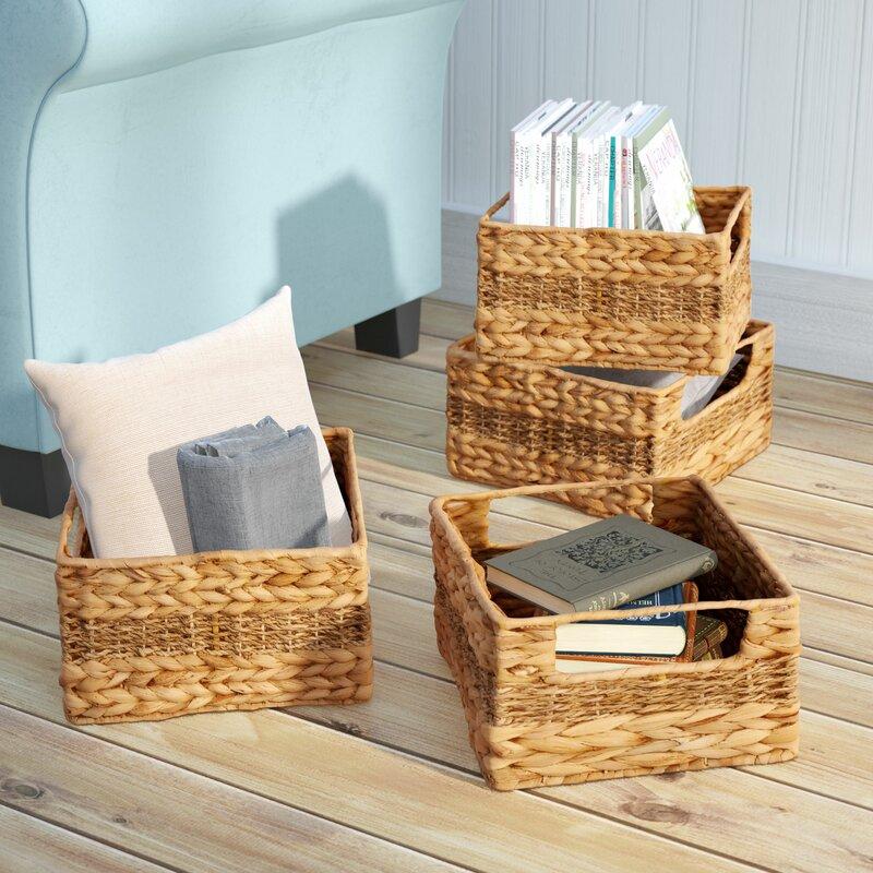 4-Piece Sea Grass Basket Set