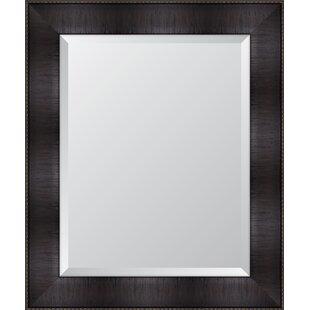 Melissa Van Hise Espresso Resin Frame Wall Mirror