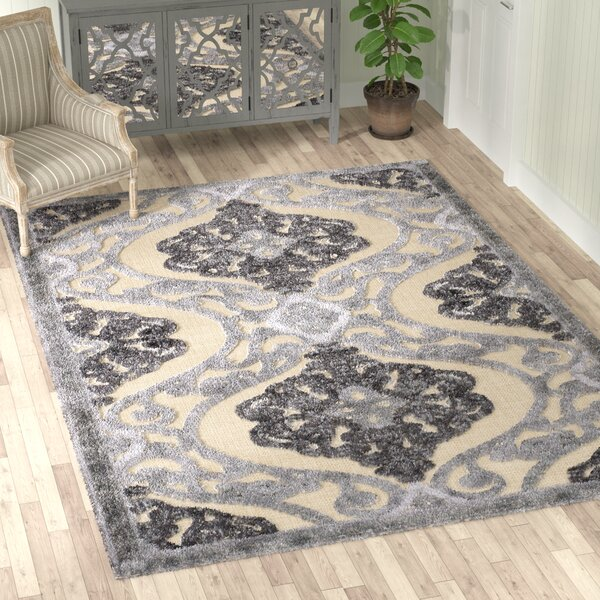 Amel Sand/Gray Area Rug by Lark Manor