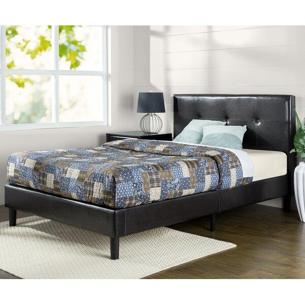 Sauer Stitched Upholstered Platform Bed By Winston Porter