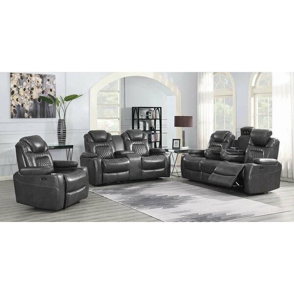Lessing Home Theater Individual Seating Red Barrel Studio W001363786