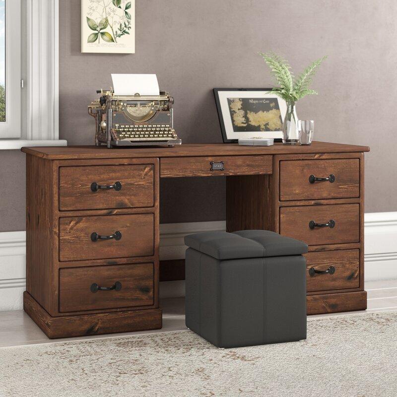 Union Rustic Cerny Executive Desk