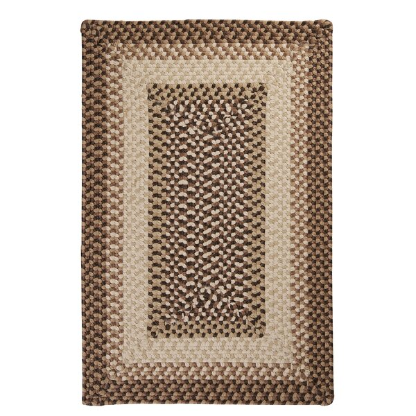 Tiburon Sandstorm Braided Indoor/Outdoor Area Rug by Colonial Mills