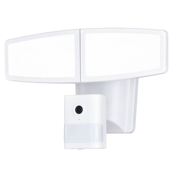 Swift Wi-Fi Camera LED Dusk to Dawn Outdoor Floodlight with Motion Sensor by Freeport Park