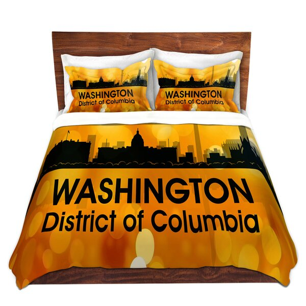 City III Washington Dc Duvet Cover Set