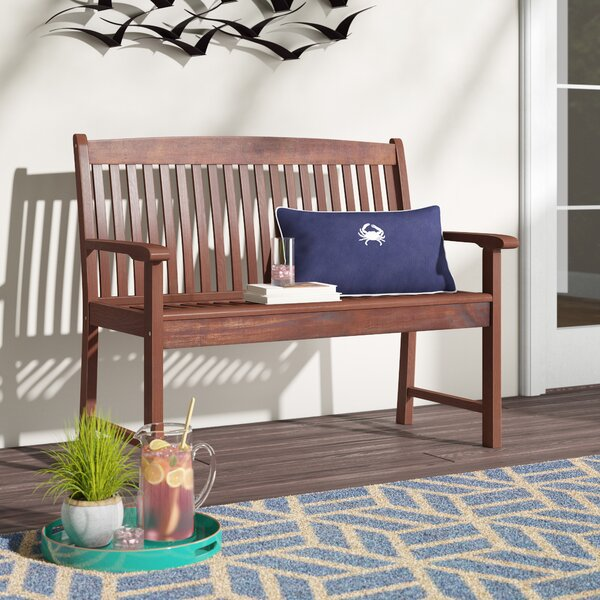 Pine Hills Garden Bench by Beachcrest Home