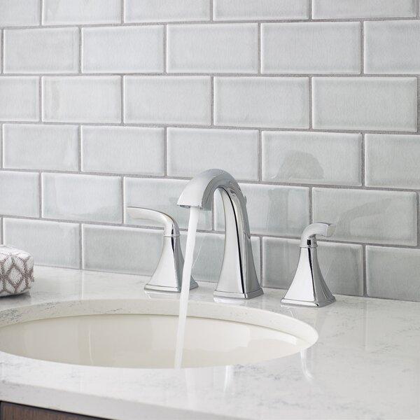 Bronson Widespread Double Handle Deck Mount Bath Faucet