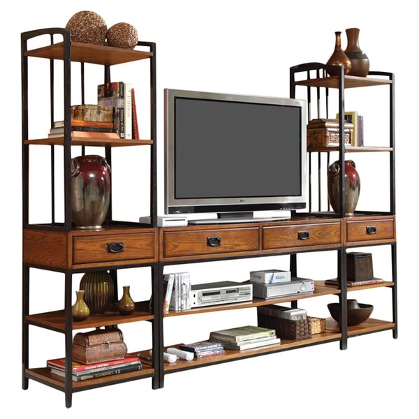 Bilboa Entertainment Center by Trent Austin Design