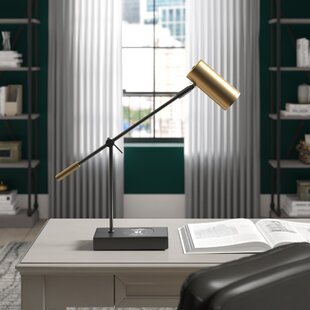 Inexpensive Bunker Charge LED 22 Desk Lamp by Greyleigh