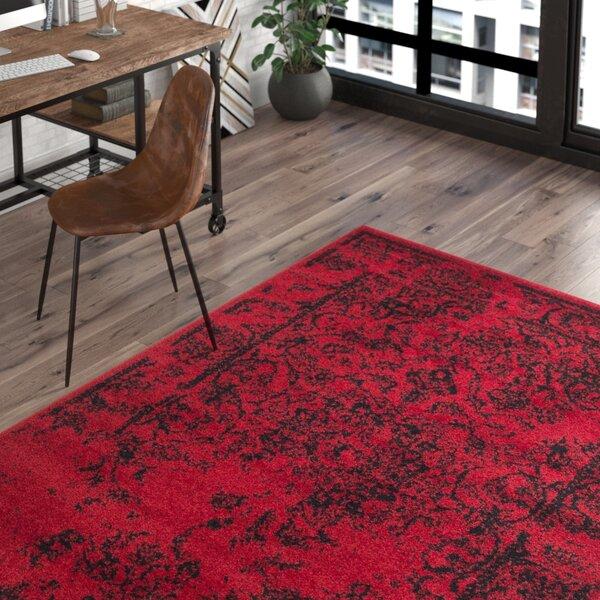 Costa Mesa Red/Black Area Rug by Trent Austin Design