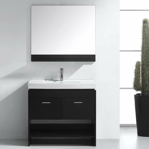 Frausto 35 Single Bathroom Vanity Set with Mirror by Brayden Studio