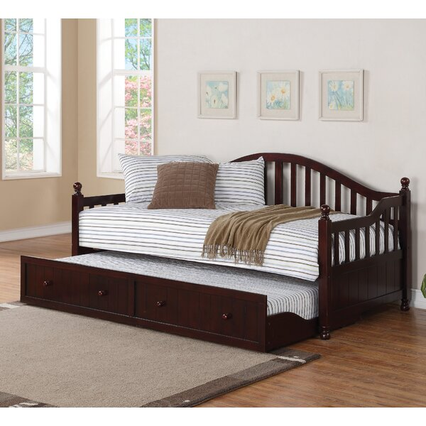 Rinaldo Twin Daybed with Trundle by Darby Home Co