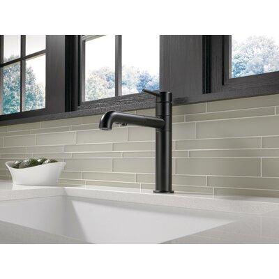 Kitchen Faucet Single Handle Seal Matte Black photo