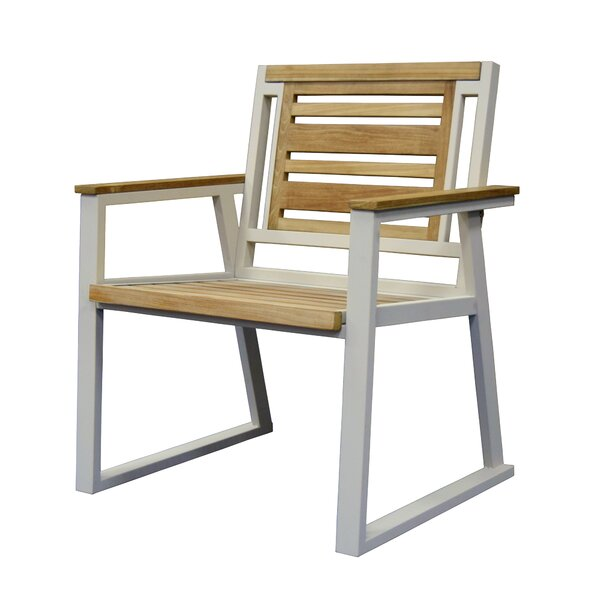 California Room Teak Patio Dining Chair by Asta Furniture, Inc.