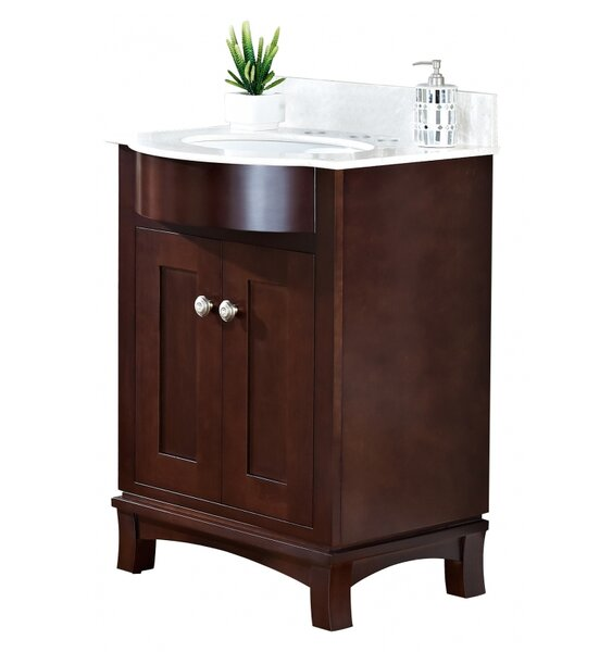 Kester Transitional 24 Multi-layer Stain Single Bathroom Vanity Set by Darby Home Co