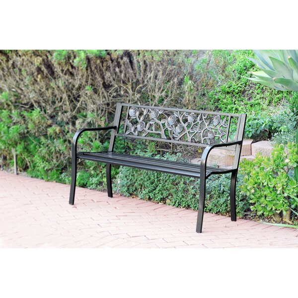 Steel Park Bench by Jeco Inc.