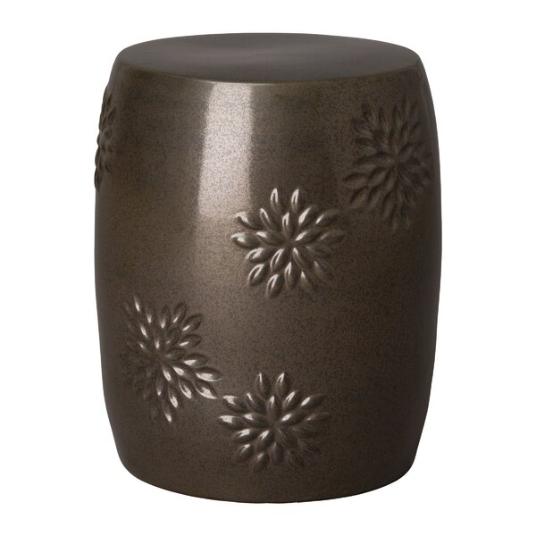 Hudson Oaks Garden Stool By World Menagerie by World Menagerie Herry Up