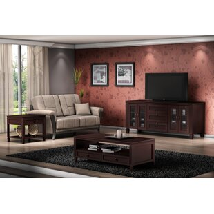 Traditional 2 Piece Coffee Table Set Furnitech