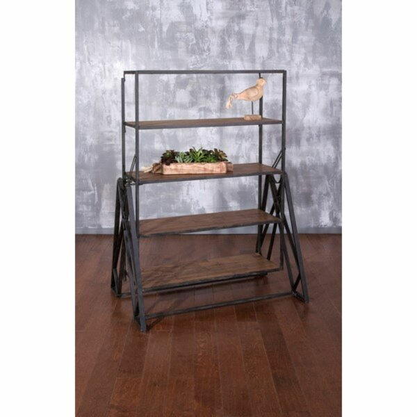 Shirl Classy Etagere Bookcase by 17 Stories