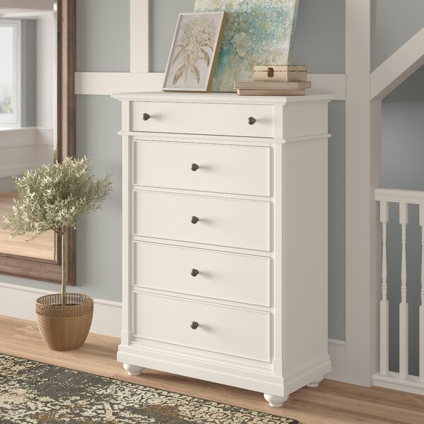 5 Drawer Chest by Feminine French Country