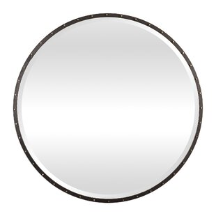 Williston Forge Rayshawn Round Accent Mirror