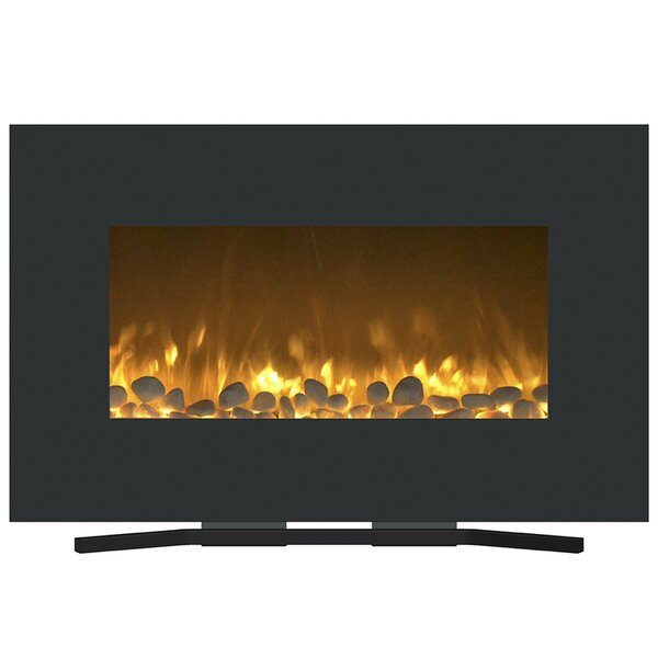 Flat Wall Mounted Electric Fireplace by Northwest