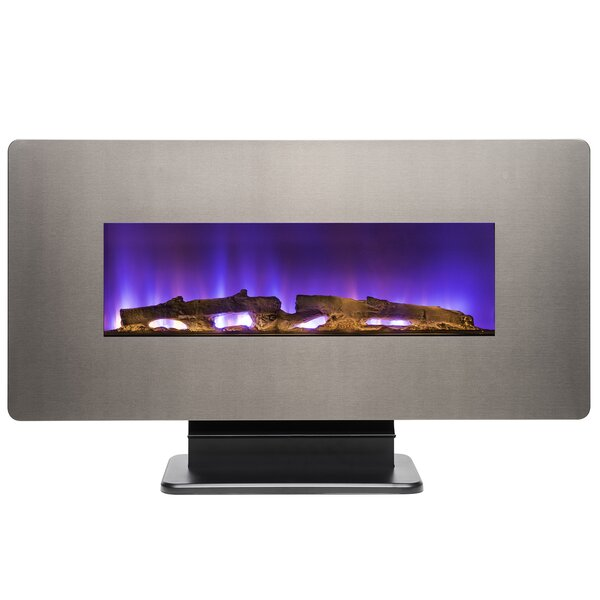 Wall Mounted/Freestanding Electric Fireplace by AKDY