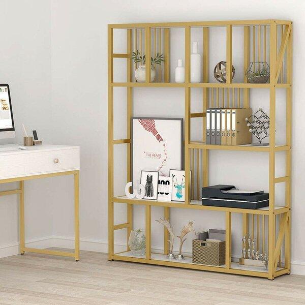 Spiro Geometric Bookcase By Mercer41