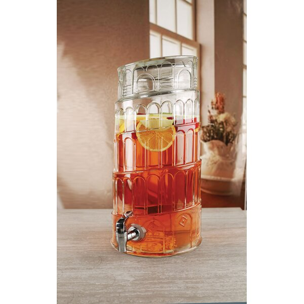 Brooklyn Heights Tower of Pisa 268.8 oz. Beverage Dispenser by Wrought Studio