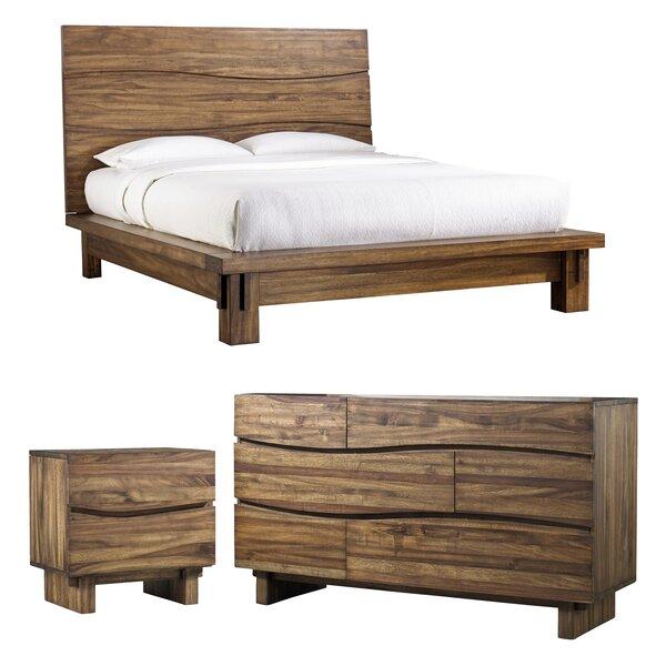 Hiram Platform Configurable Bedroom Set by Mistana Mistana