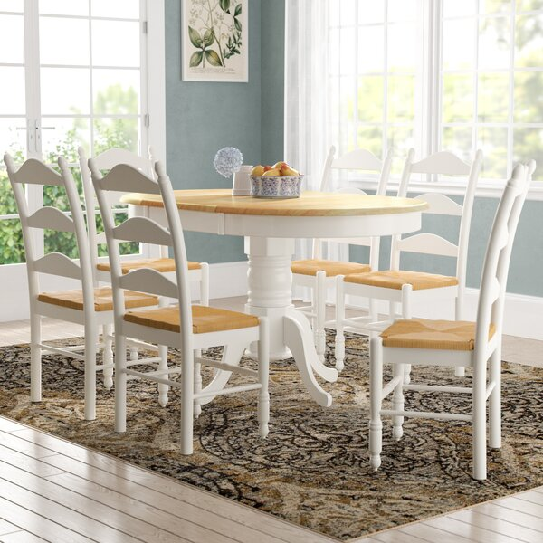 Carthage 7 Piece Extendable Dining Set by August Grove