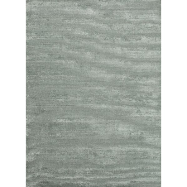 Nico Hand-Loomed Gray Area Rug by Latitude Run