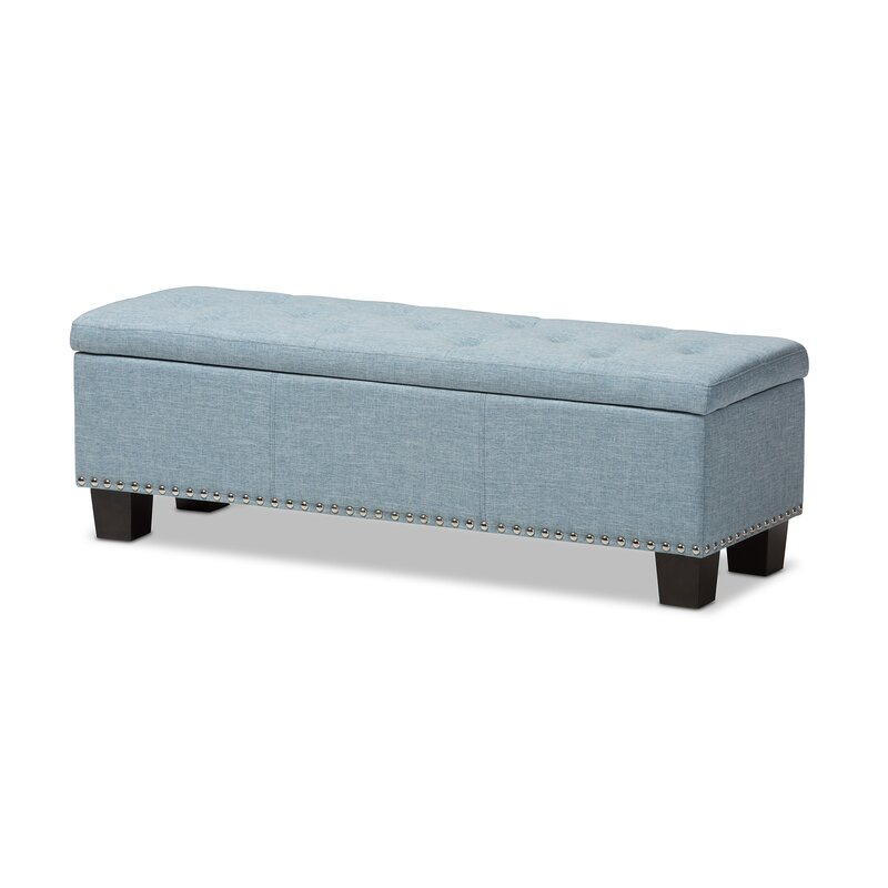 default_name - Alcott Hill Back Bay Upholstered Storage Bench & Reviews Wayfair