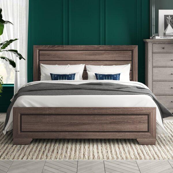 Kelm Wood Standard Bed by Brayden Studio