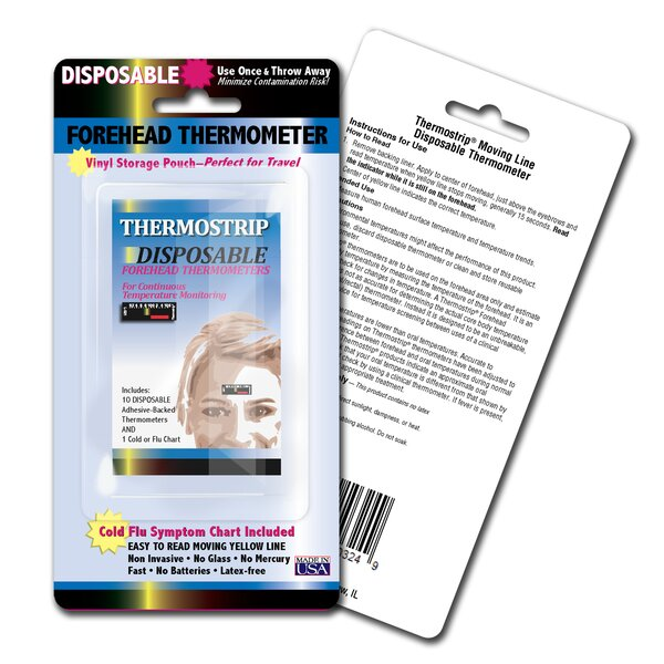 Disposable Thermostrip Set (Pack of 3) by LCR Hallcrest