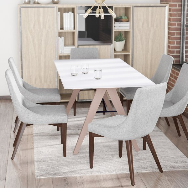 Bergevin Upholstered Dining Chair (Set of 2) by Wade Logan