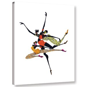 'Soar' Graphic Art Print on Canvas by Bloomsbury Market