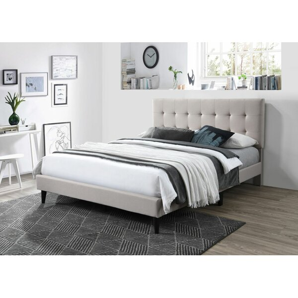 Langsten Upholstered Platform Bed by Latitude Run