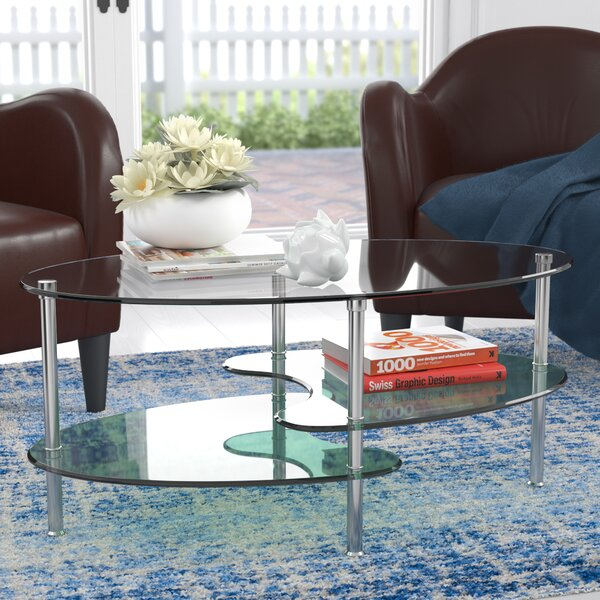 Hefner Two Tier Coffee Table by Wrought Studio