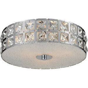 Hyland 3-Light Flush Mount
