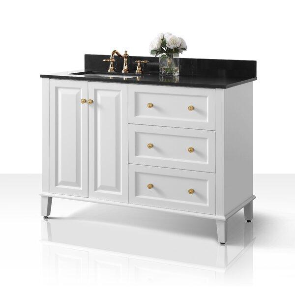 Fugate 48 Single Bathroom Vanity Set with Mirror by House of Hampton