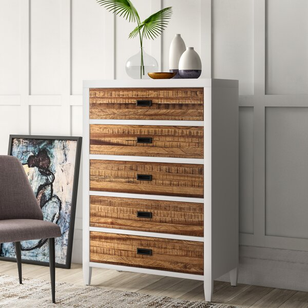 Bendigo 5 Drawer Chest by Mercury Row