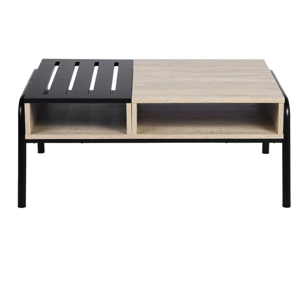 Makris Coffee Table with Tray Top by Ebern Designs Ebern Designs