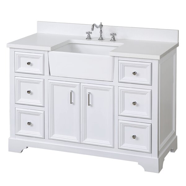 Zelda 48 Single Bathroom Vanity Set by Kitchen Bath Collection