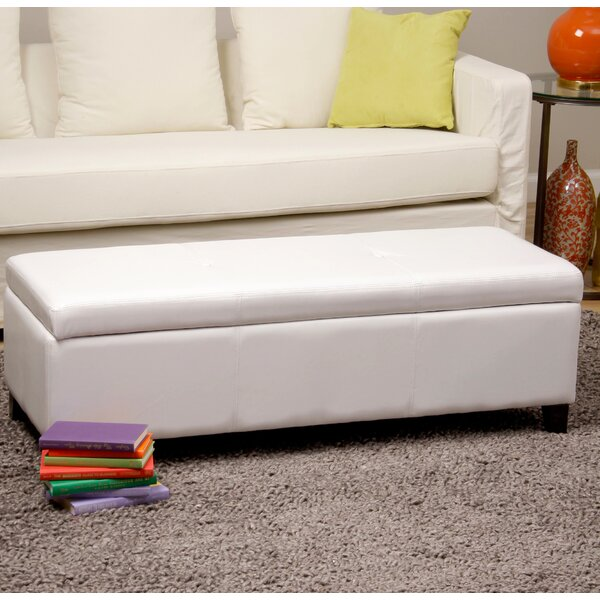 Sharon Upholstered Storage Bench by Warehouse of Tiffany