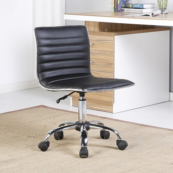 Fabricio Adjustable Modern Swivel Desk Chair by Orren Ellis