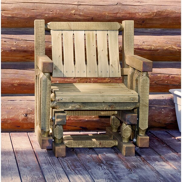 Homestead Glider Chair by Loon Peak