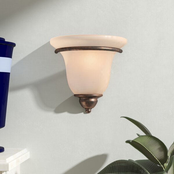 Enfield 1-Light Wall Sconce by Three Posts