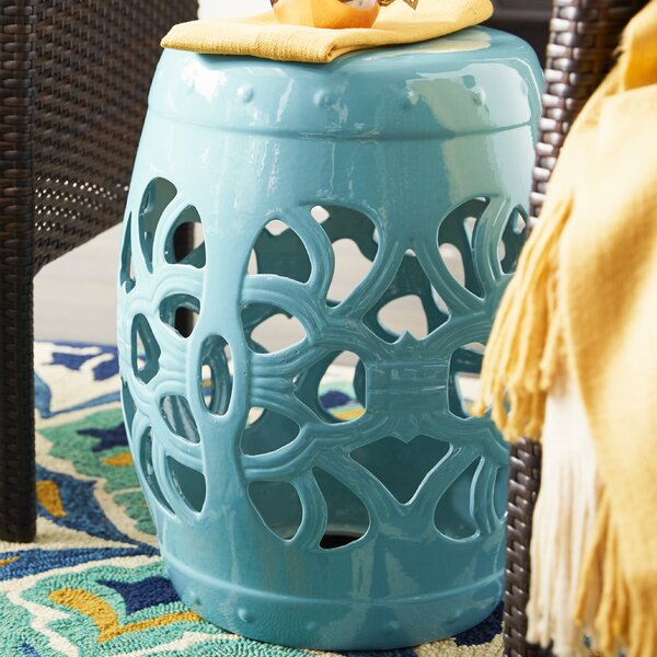 Donofrio Ceramic Garden Stool by Mercury Row