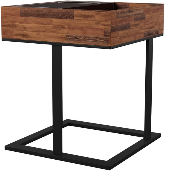 Manns Tray Top Sled End Table By Mercury Row